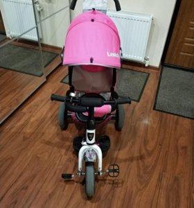 Детский велосипед новый. Катались меньше недели