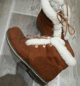 Ботинки жен 36 размер