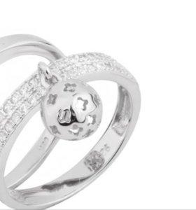 Кольцо серебряное Sandara