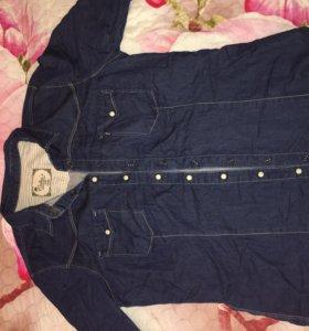 Джинсовая рубашка Коллинз