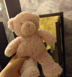 Мягкая игрушка розового мишки