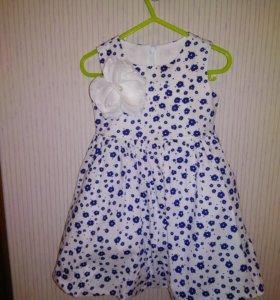 Платье 92см