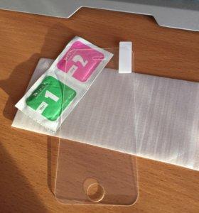 Защитное стекло для айфон 5, 5s, se