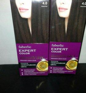 Краска для волос faberlic Expert  тон 4.0 .Каштан