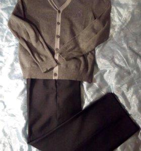Комплект для мальчика - брюки и жакет, 140-146
