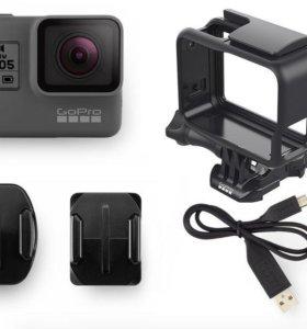 Камера GoPro Hero 5 black + ориг.аксессуары