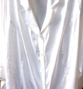 Блузка шелк 62-64