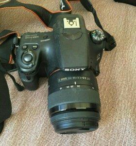 Зеркальный фотоаппарат Sony SLT A58