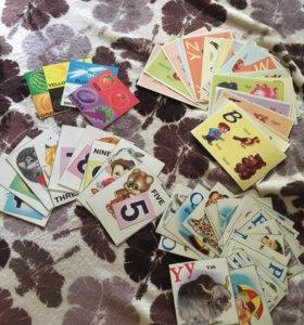 Карточки английского для детей!