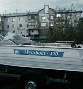 Лодка с мотором Ямаха 55