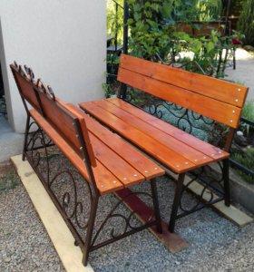 Изготовлю  садовые скамейки