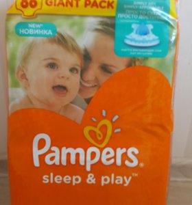 Подгузники Памперс Sleep&play