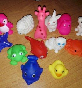 Игрушки для купания новые