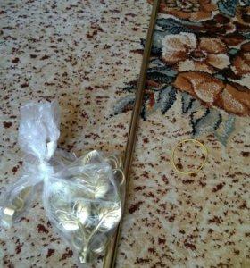 КРАСИВЫЙ карниз 2 метра золото