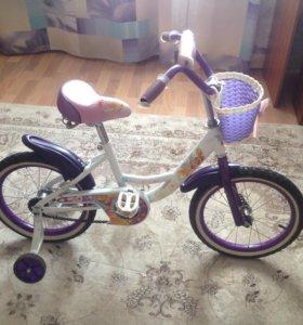 Велосипед для девочки в хорошем состоянии