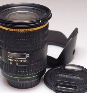 Oбъектив Pentax 16-50mmF2.8ED AL (IF) SDM