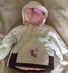 Куртка для девочки 6 -12 мес