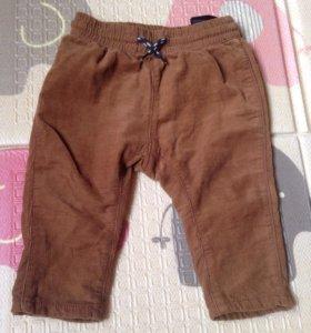 Детские вельветовые штаны H&M