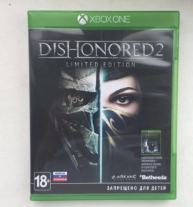 Xbox One Dishonored 2, обмен