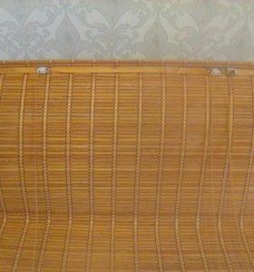 Шторы рулонные из бамбука
