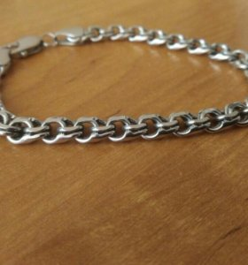 Новый серебряный браслет
