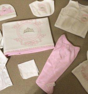 Комплект на новорожденную