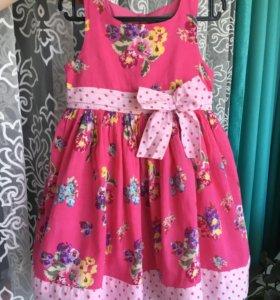 Нарядное платье 90р