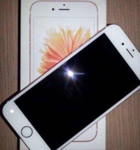 Айфон 6s розовое золото
