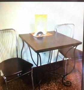 Столы 6 шт и стулья 14 шт