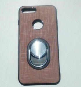 Чехол на айфон-7+( с кольцом)