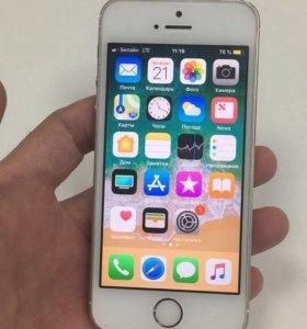 iPhone 5s 16 гиг,золотой