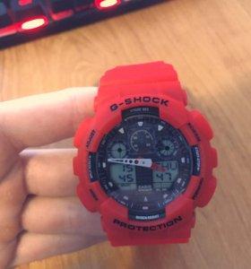 G-Shock GA-100 Red Красные