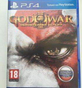 """игра на PS4 """"God Of War. обновлённая версия"""""""