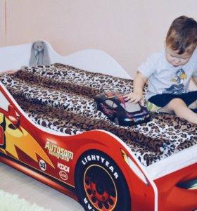 Кровать-машина Тачка кроватка детская