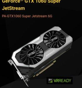 Видеокарта Palit GTX 1060 Super Jetstream 6G