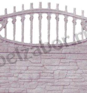 Декоративные бетонные заборы (палисадники)