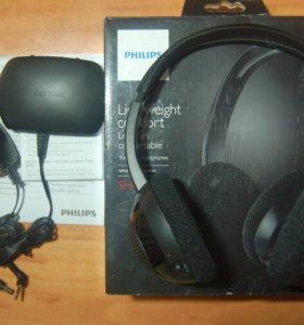 Наушники беспроводные Philips SHC 1300 новые