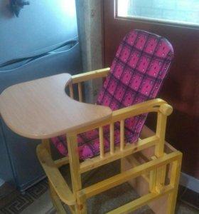 Стол-стульчик для кормления.