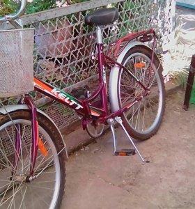 Велосипед абсолютно новый.