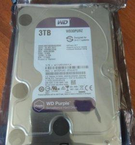 Жесткий диск WD Purple 3Tb