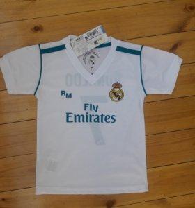 Новая детская футболка Real Madrid оригинал