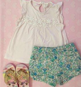 Одежда для девочка 2-3 рост 98 Benetton Zara