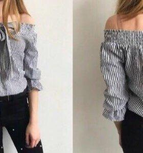 Блузка без плеч