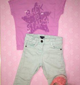 Одежда для девочки 2-3 года рост 98