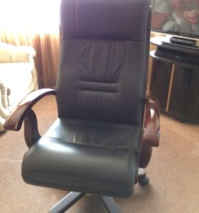Кресло кожаное🔥