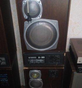 Аудио колонки Радиотехника S-90