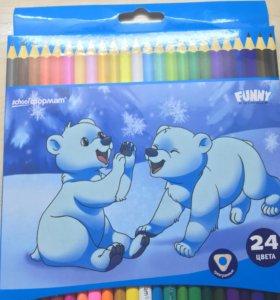 Цветные карандаши ✏️