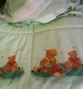 Бортики на кроватку новые