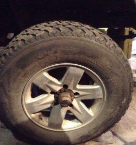 Комплект колёс на Уаз