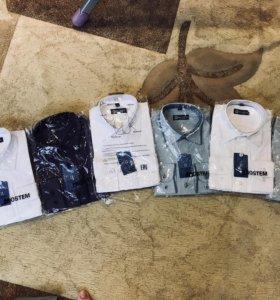 Новые рубашки для мальчиков